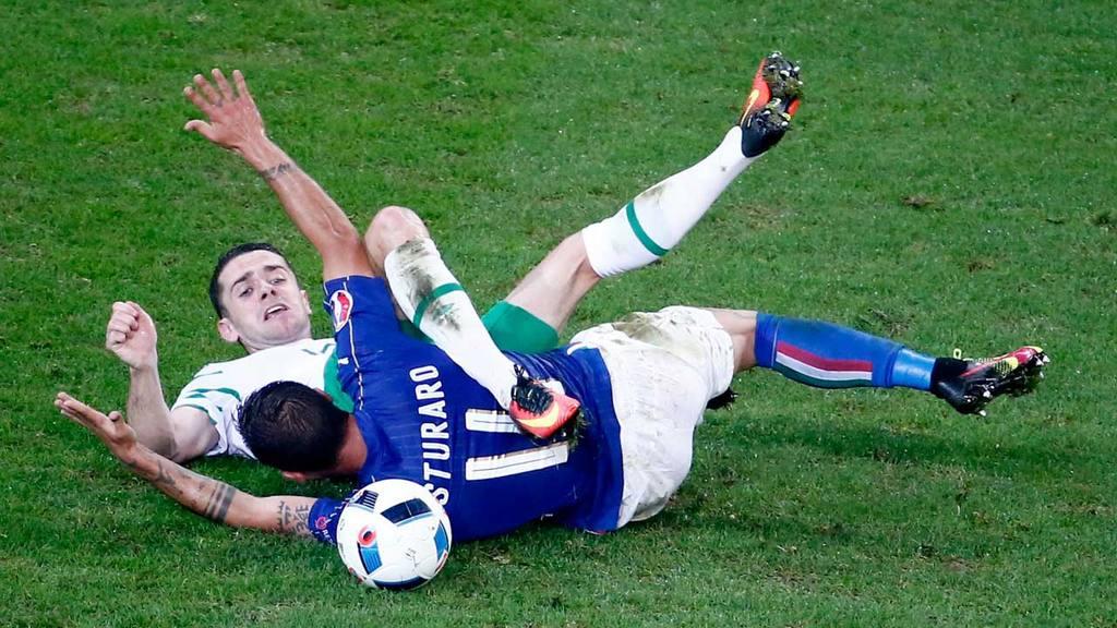 Italia vs Irlanda Eurocopa 2016
