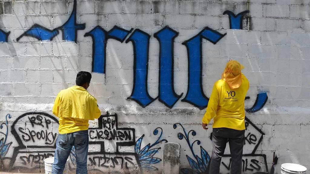 Borrado de grafitis