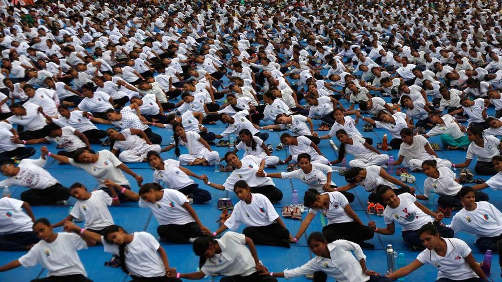 Día Internacional de yoga