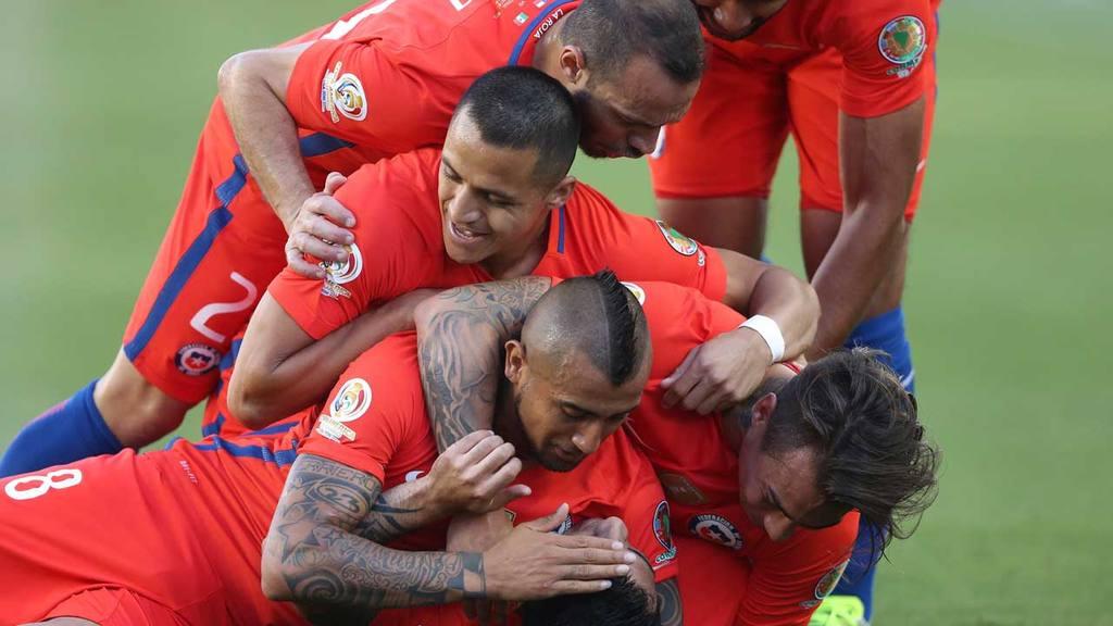 México vs Chile Copa América Centenario
