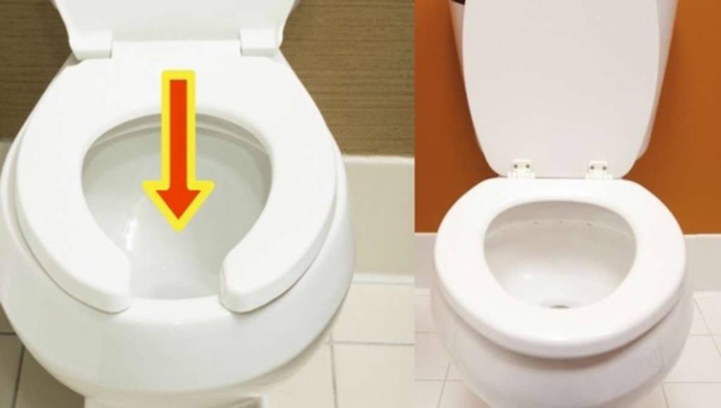 Por qu algunos inodoros tienen un espacio en su tapa for Espacio inodoro
