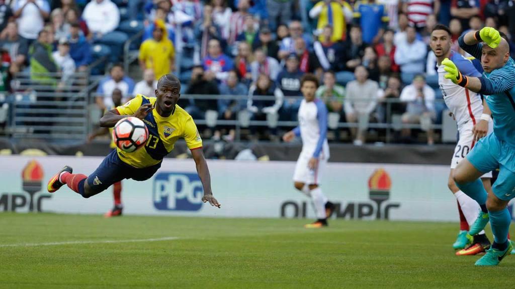 Estados Unidos vs Ecuador Copa América Vicentenario