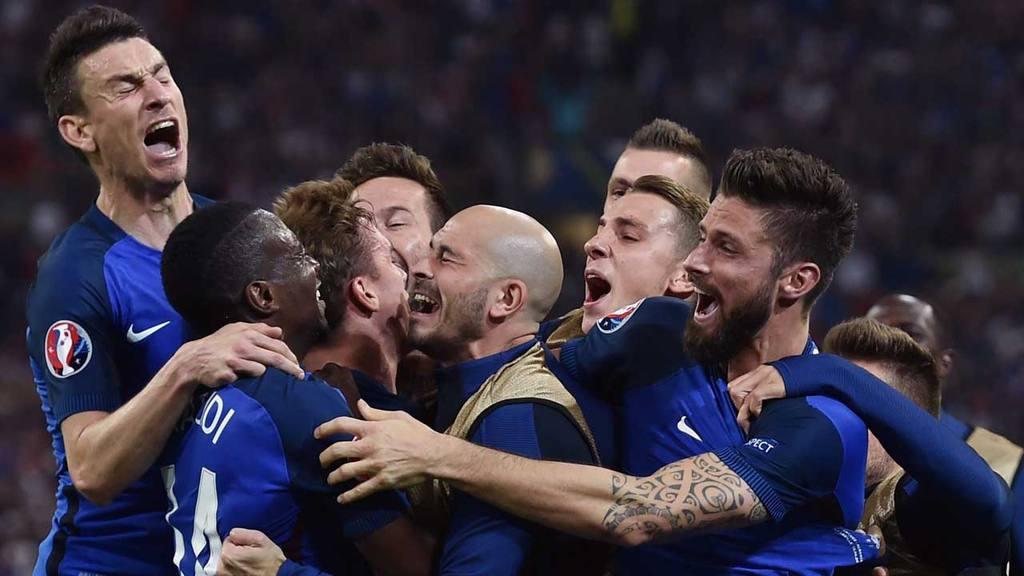 Francia vs Albania Eurocopa 2016