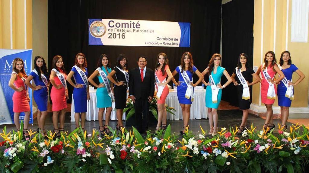 Presentan candidatas a reina de las fiestas julias.