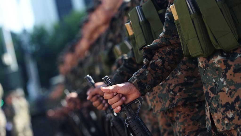 Despliegue militar en Centro Histórico