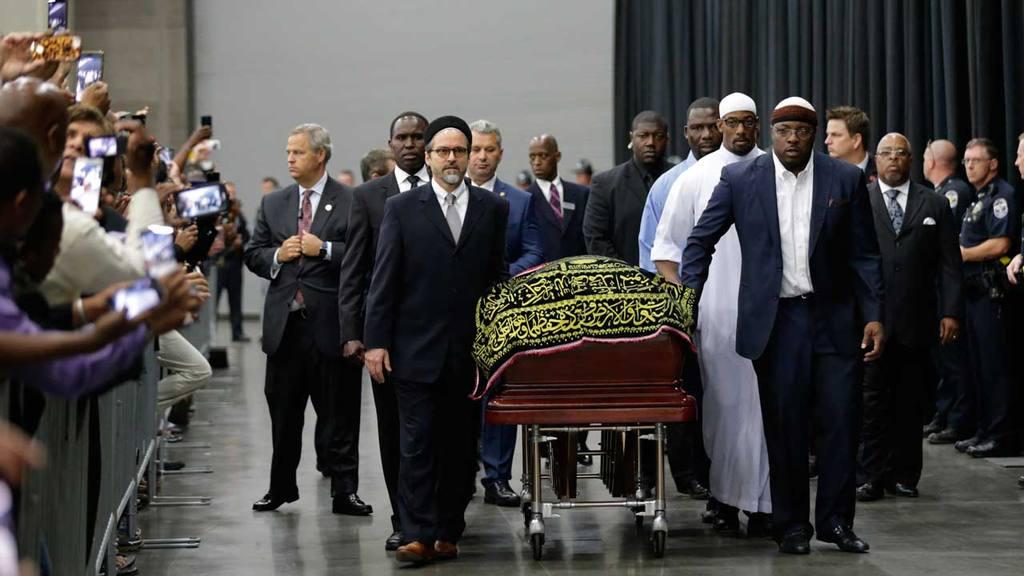 Funeral Muhammad Ali