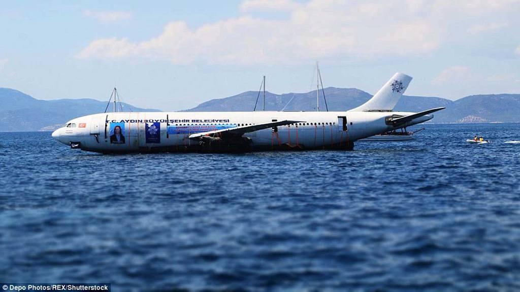 Avión hundido
