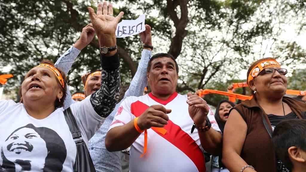 Keiko Fujimori y Pedro Kuczynski mantienen empate tÈcnico, seg?n sondeos