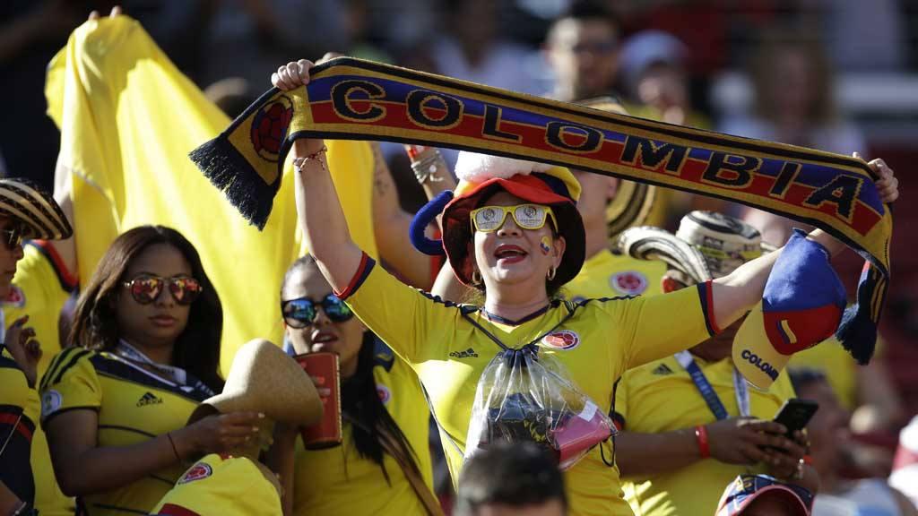 Alegría colombiana en la Copa América Centenario