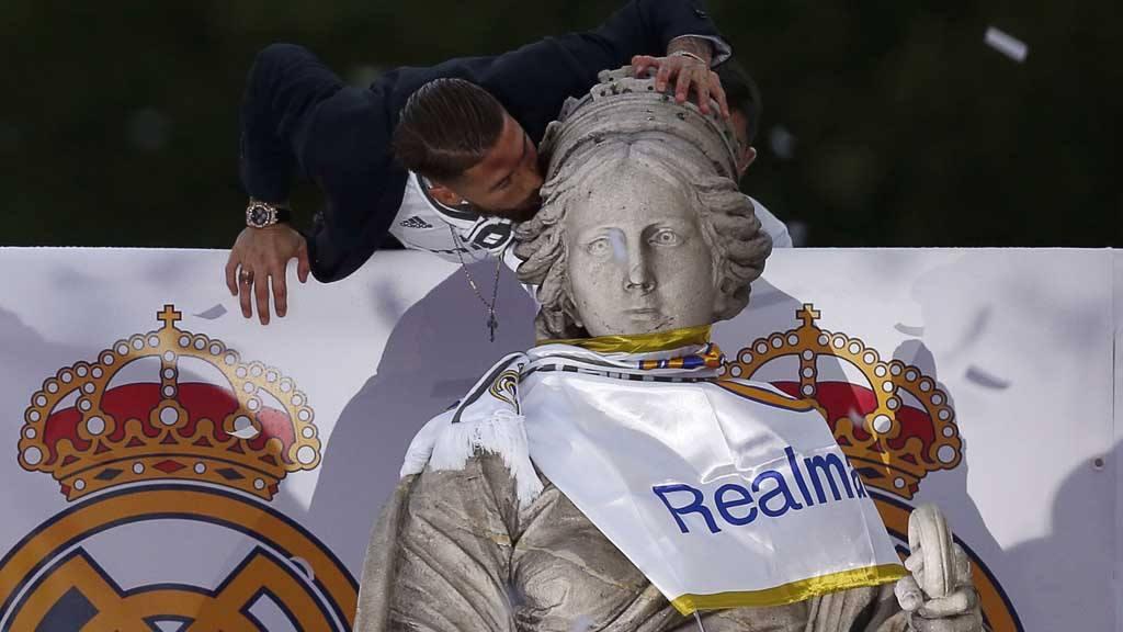 EL REAL MADRID CELEBRA LA UNDÉCIMA EN CIBELES