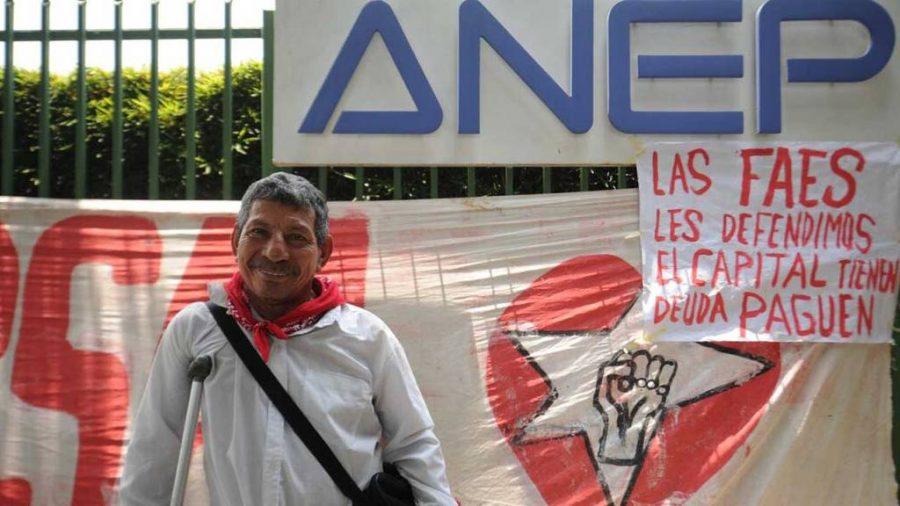 Protesta ANEP