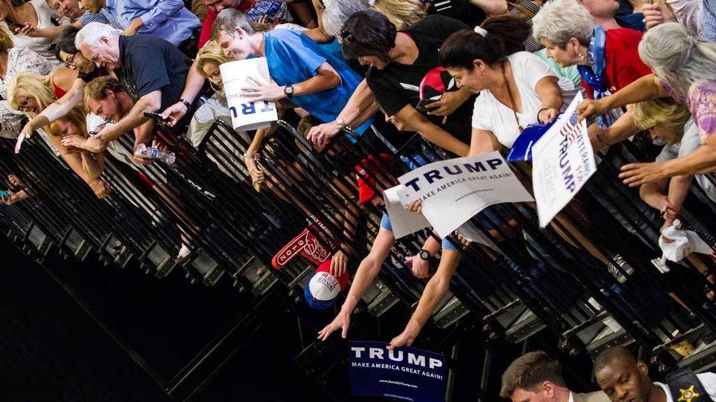 Mitin de Donald Trump en Nuevo M??xico