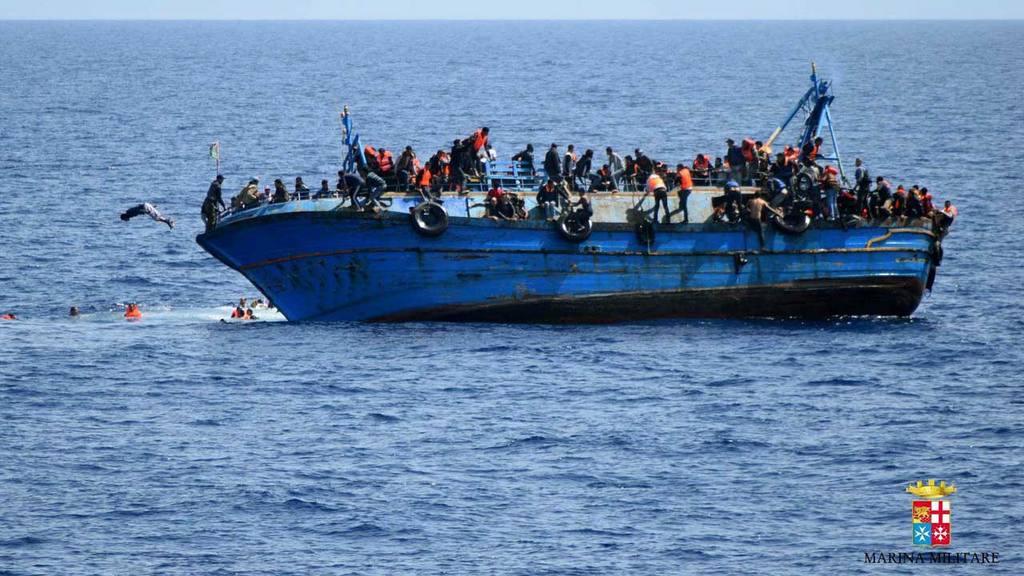 Barco migrantes