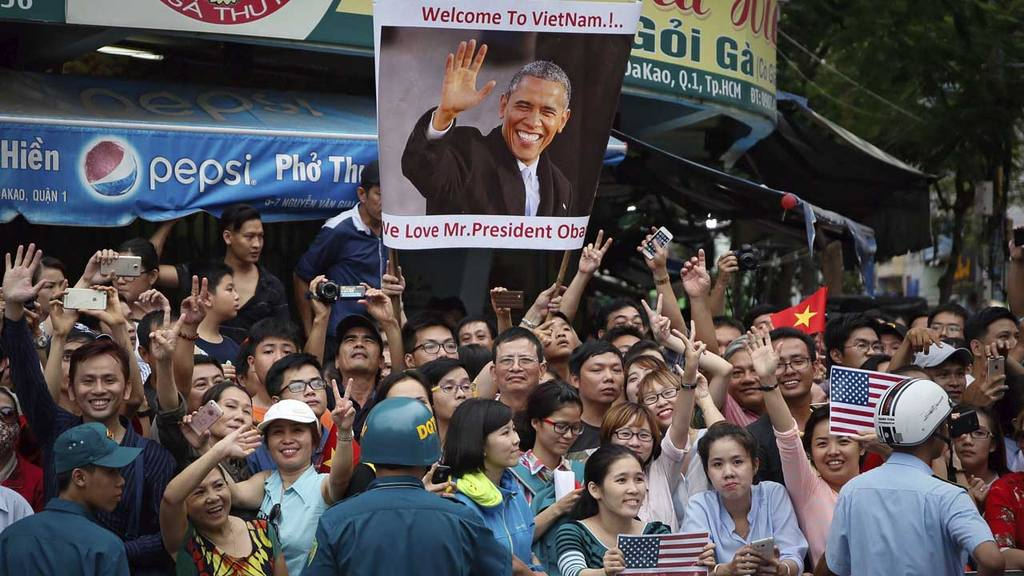 Obama en Vietnam