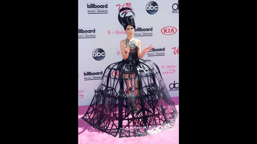 Alfombra roja en los Premios Billboard 2016