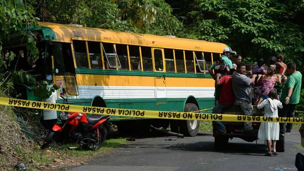 Accidente bus