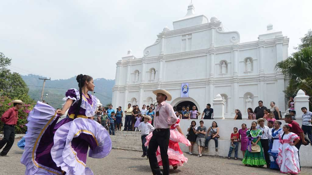 Las palmas de Panchimalco