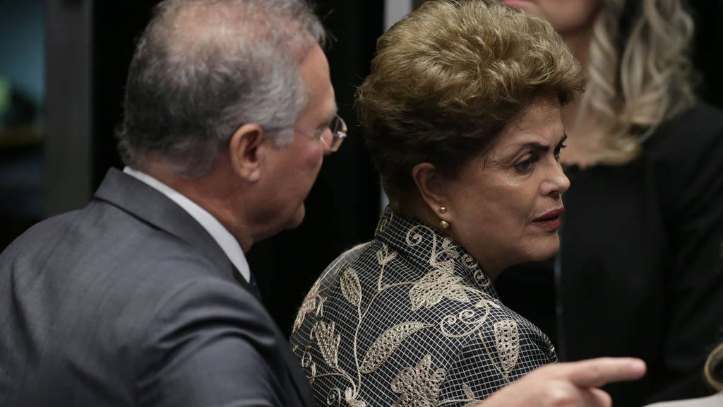 Dilma Rousseff,Renan Calheiros