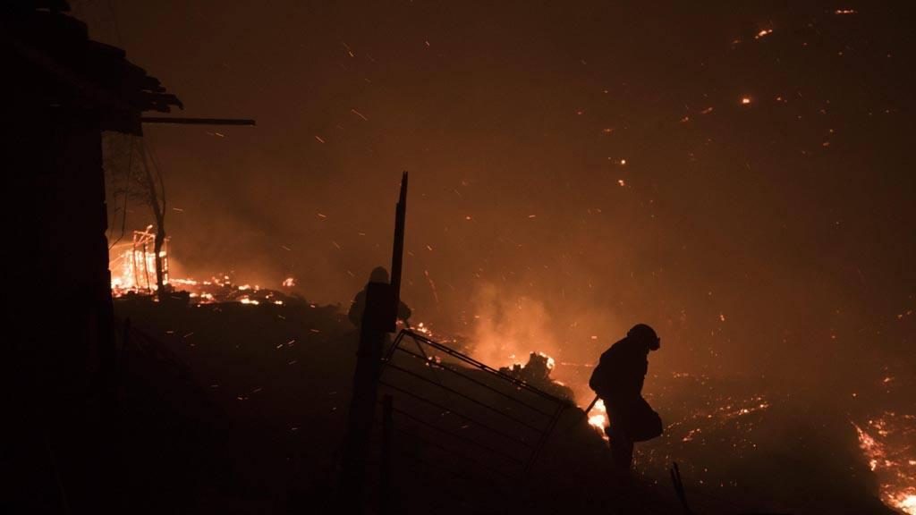 Incendio forestales en Portugal