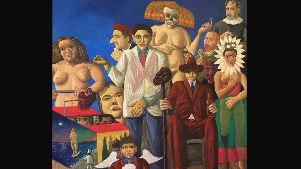 Las pinturas incautadas a Mauricio Funes