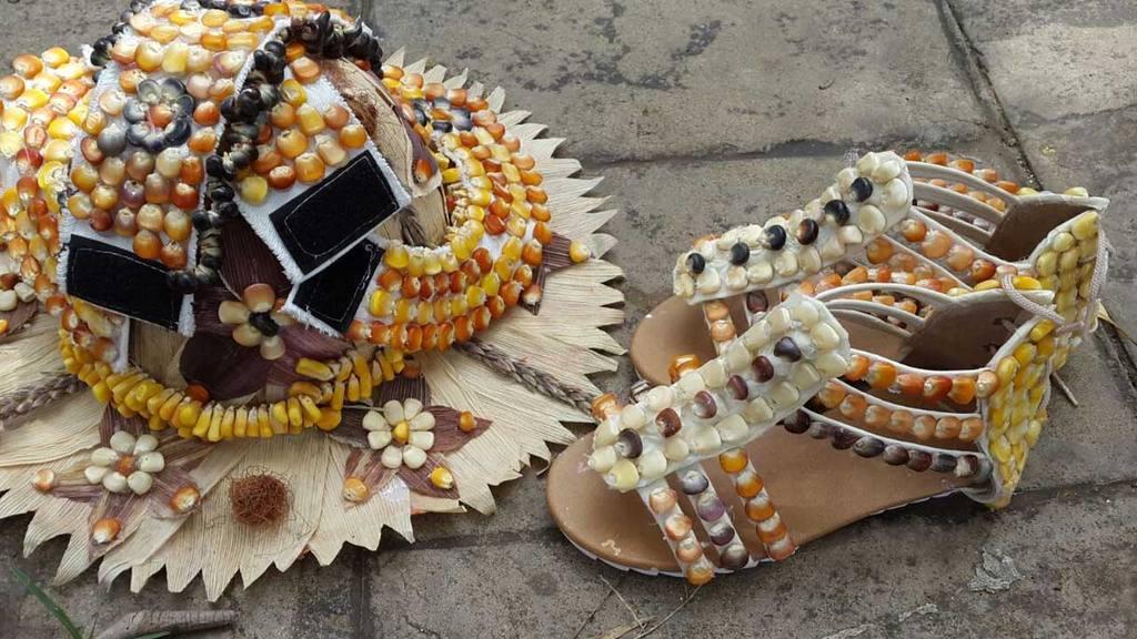 Zapatos de maíz