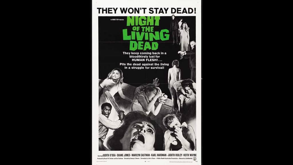 Zombies en películas