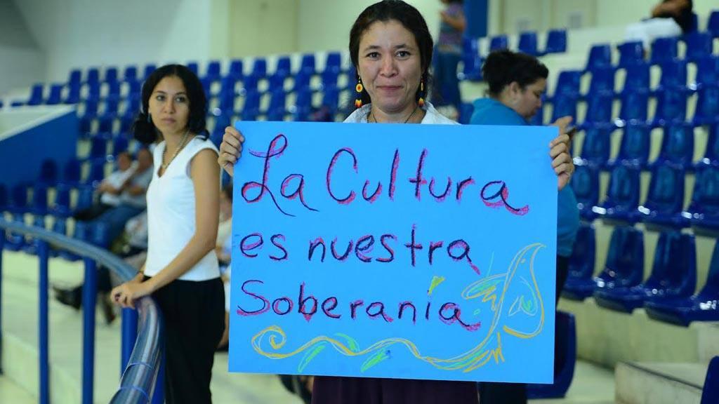 Ciudadanos exigen aprueben Ley de la Cultura.