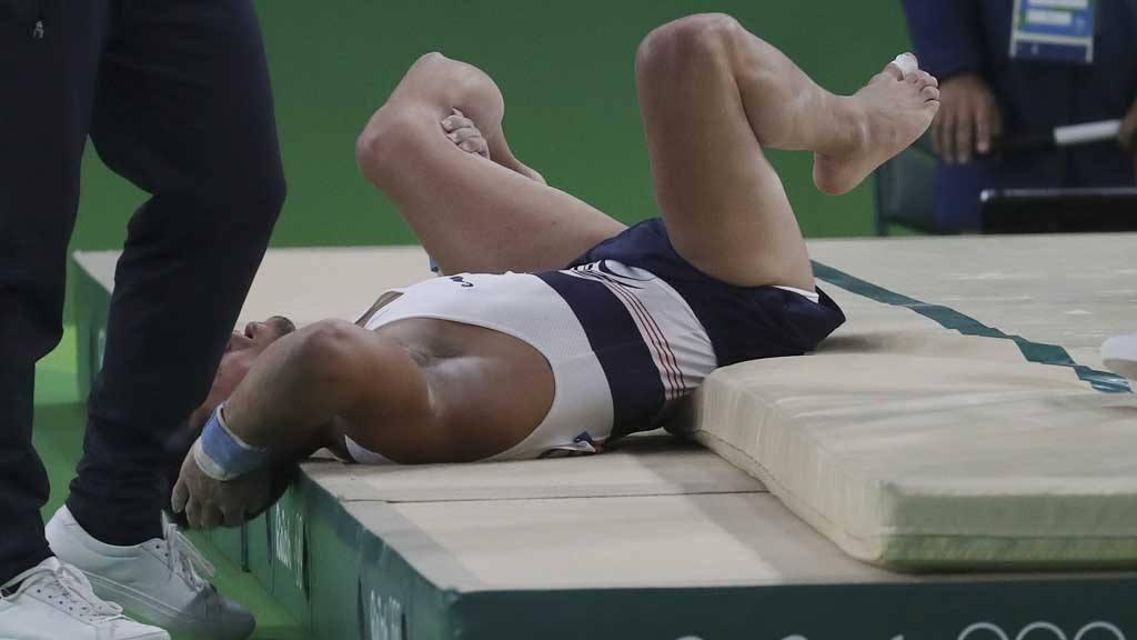 Río 2016, lesión, gimnasta francés