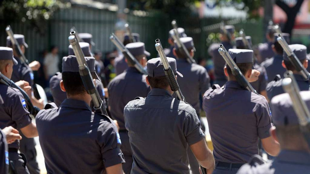 Desfile policial