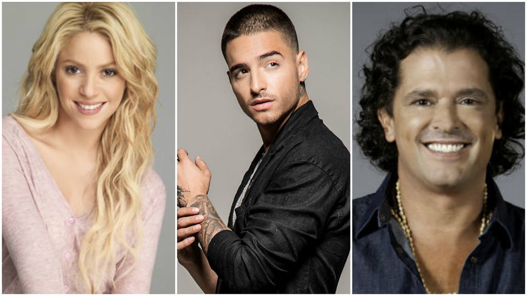 Shakira, Maluma y Carlos Vives lanzarán canción juntos ...