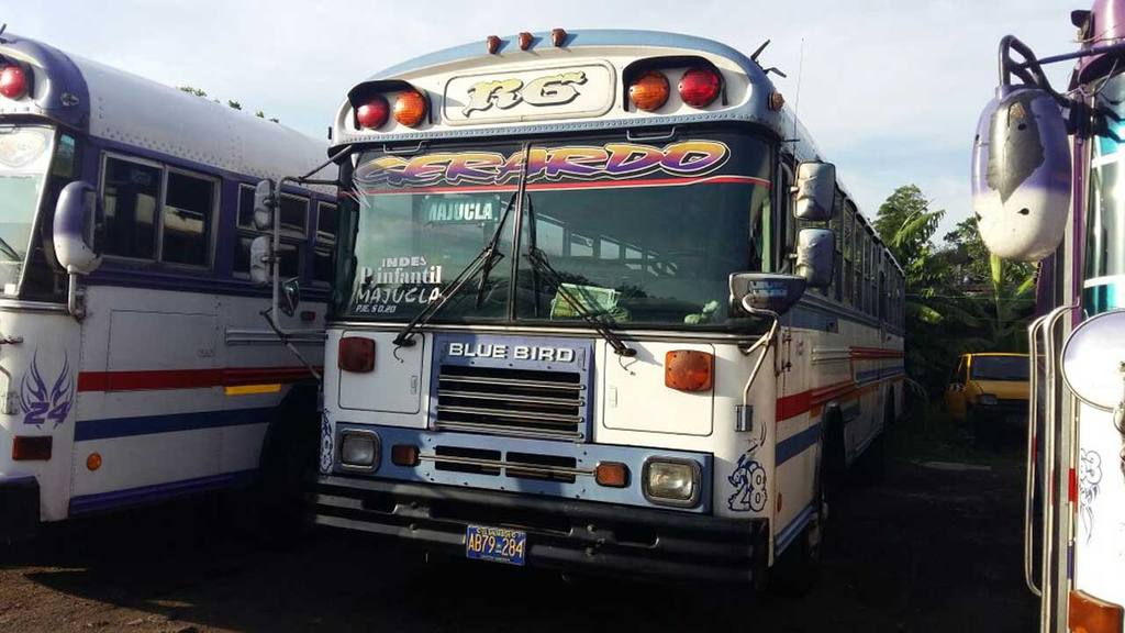 Buses decomisados