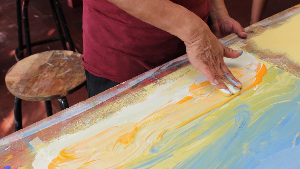 La pintura rebasa los límites