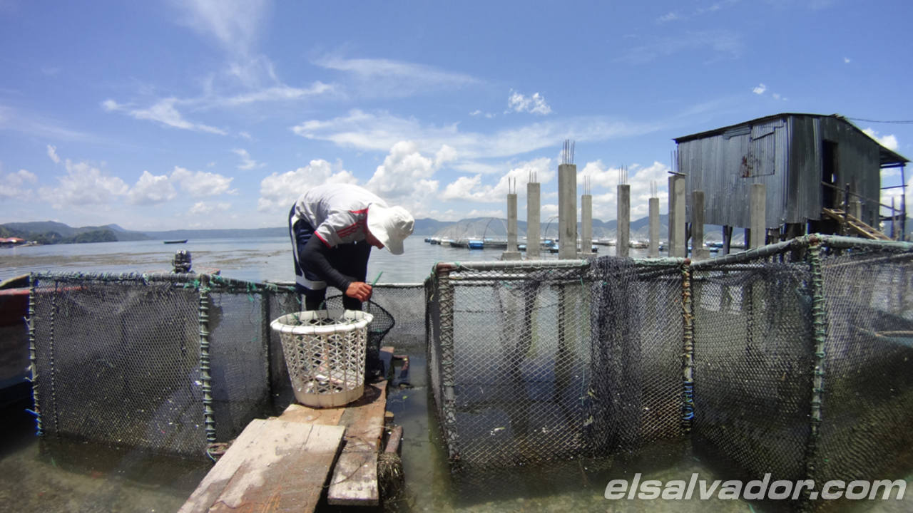 8 impresionantes imágenes del Lago de Ilopango