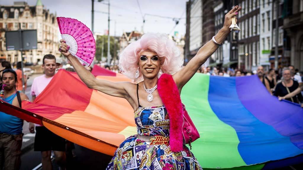 PrideWalk in Amsterdam