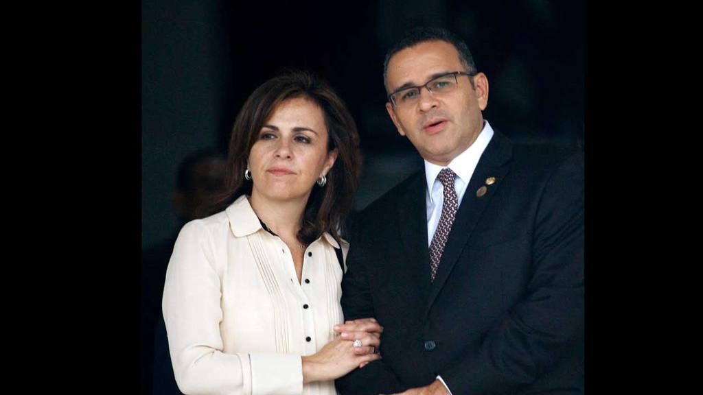 Vanda Piganto y Mauricio Funes