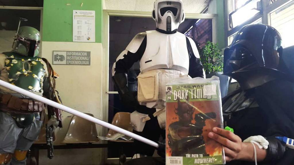 Star Wars, Hospital Bloom