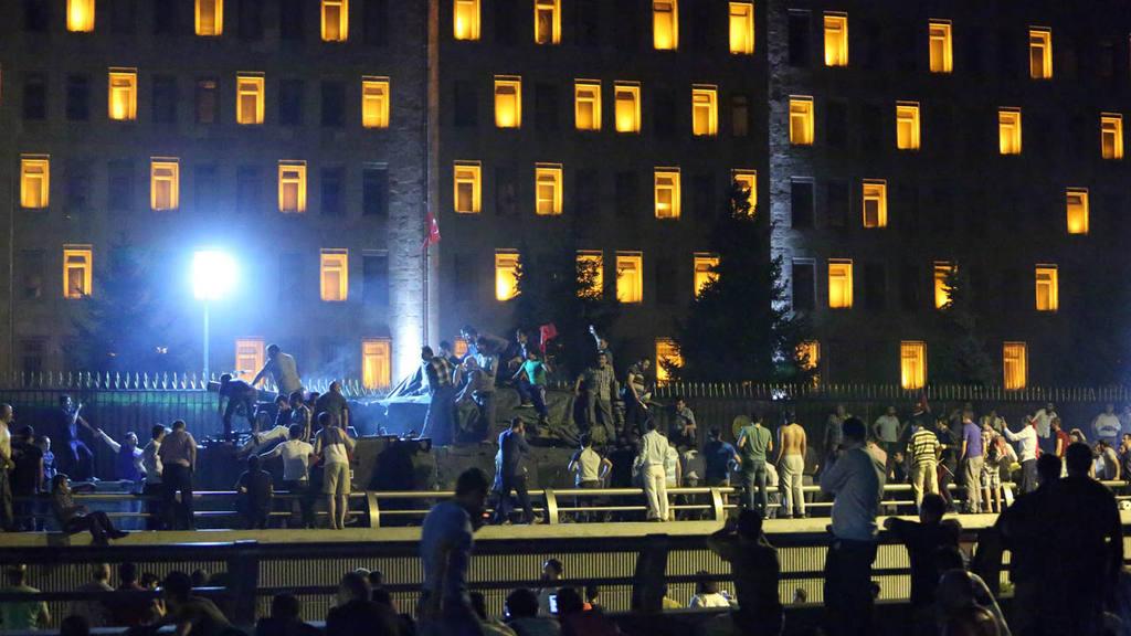 Attempted coup d'etat in Turkey