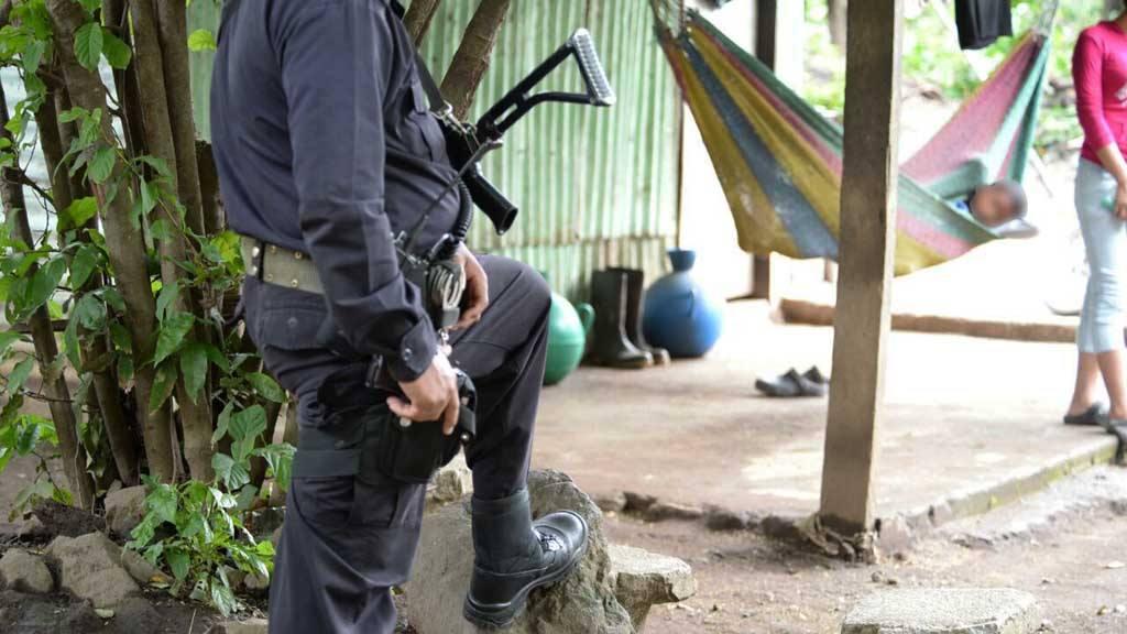 Homicidio en Teotepeque.  Santa Ana