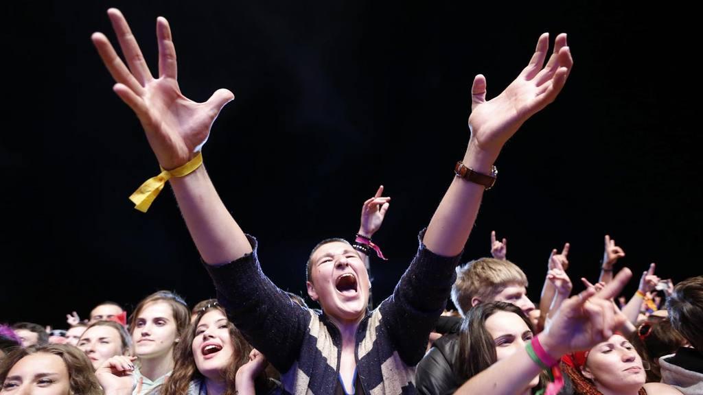 festival de rock al aire libre ' Nashestvie '