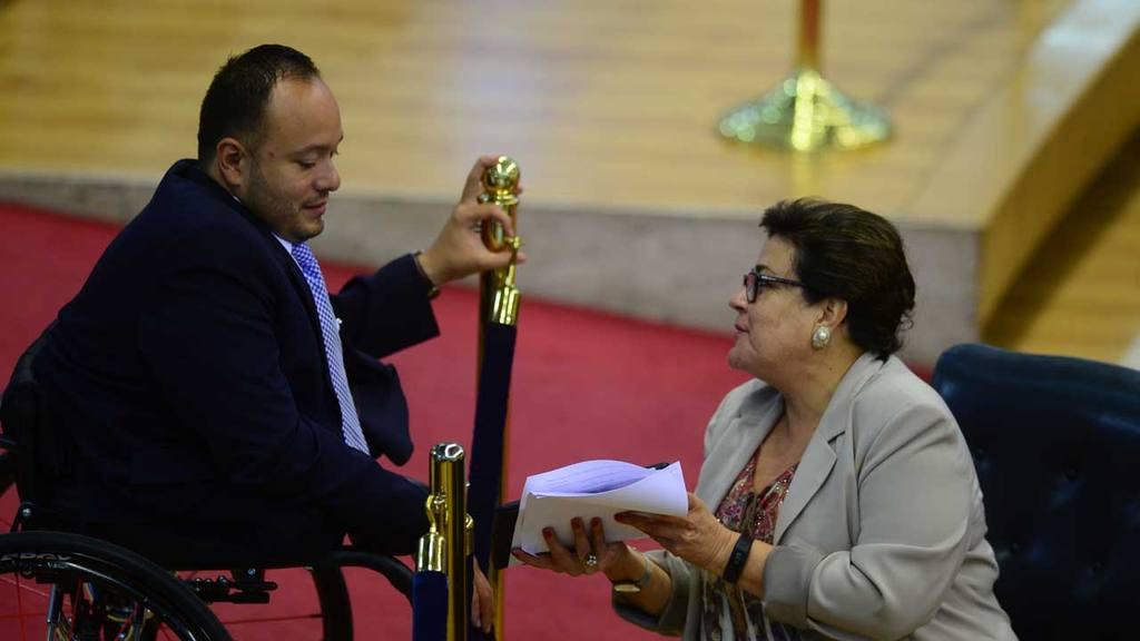 David Reyes y Margarita Escobar