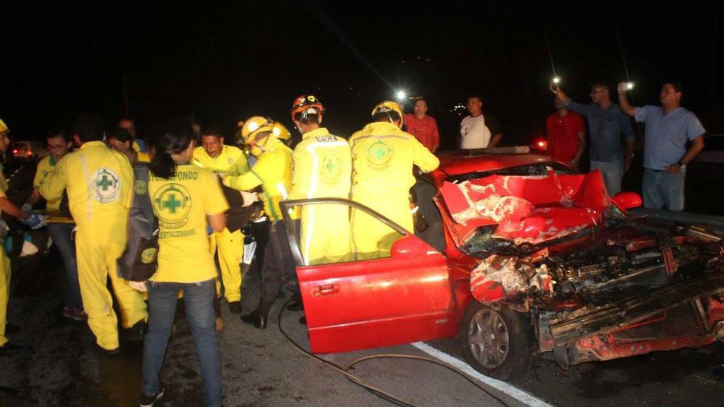 Accidente bulevar Monseñor Romero
