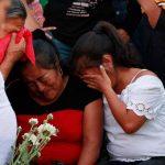 Entierro victimas de accidente en Bulevar Monseñor Romero