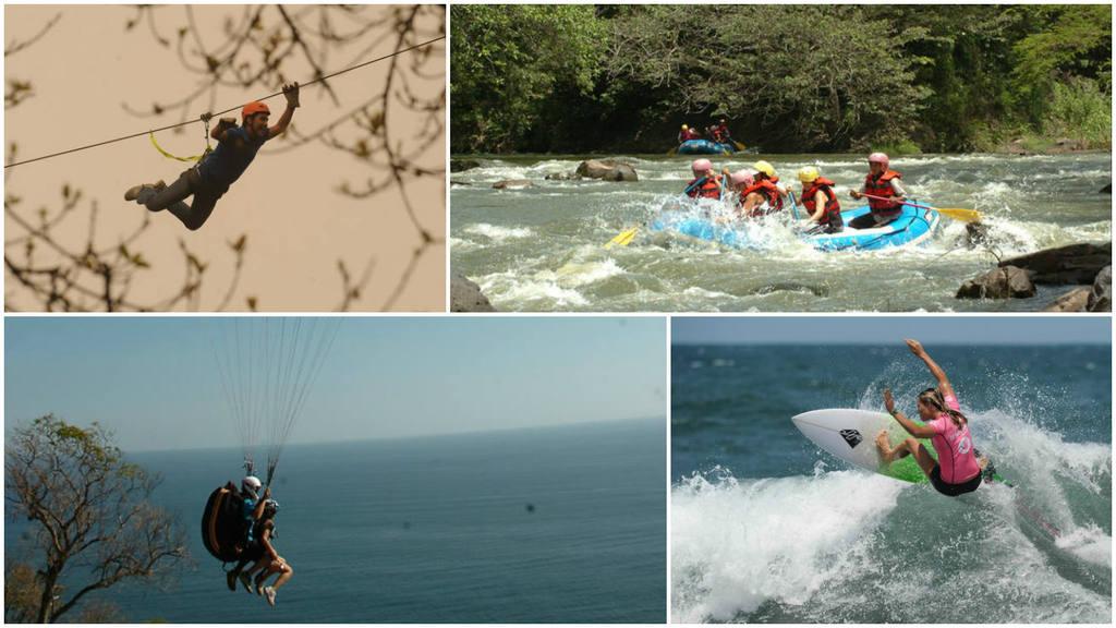 Turismo extremo en El Salvador