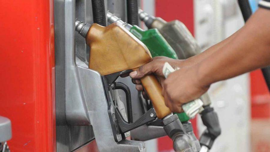 El gas 4 generación sobre las vueltas es conmutado a la gasolina