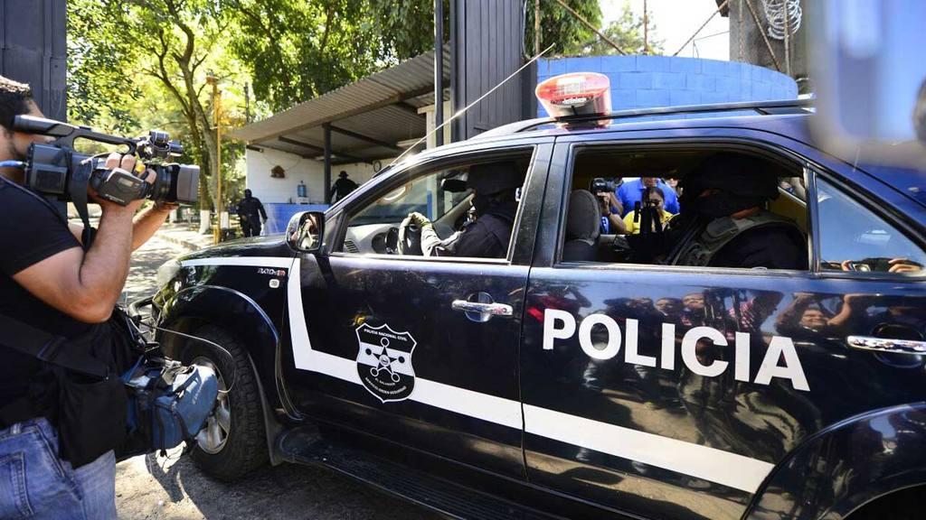 Expresidente Tony Saca, César Funes y Julio Rank fueron capturados