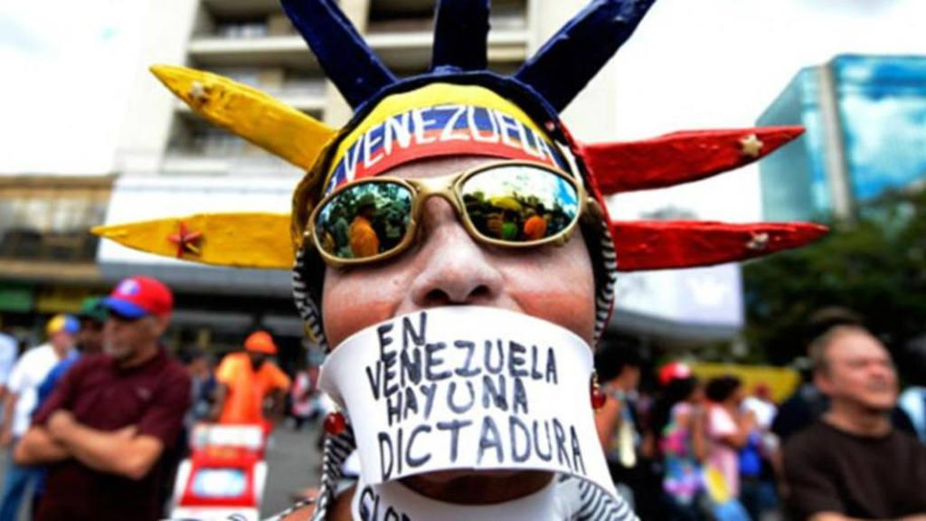 La oposición en Venezuela.