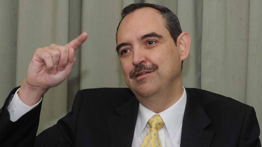 Ing. Rene Novellino, Director Ejecutivo de ASAFONDOS,  durante una entrevista a EDH.