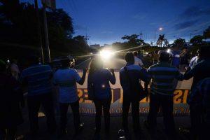 Protesta alcaldes