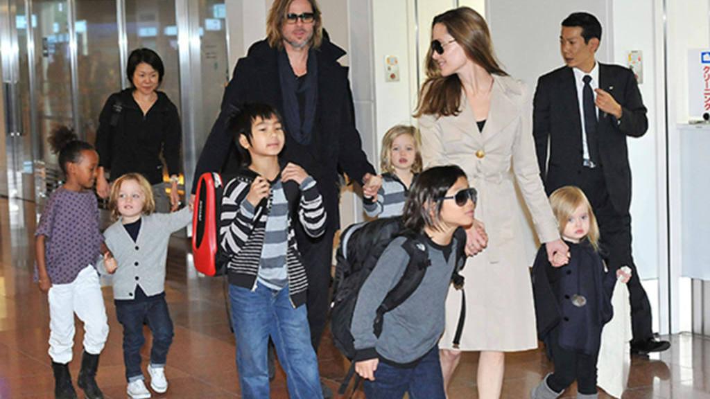 Resultado de imagen para Angelina Jolie y sus hijos
