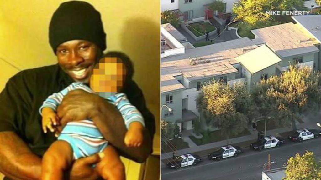 Hombre armado muere tras forcejeo con policía en California